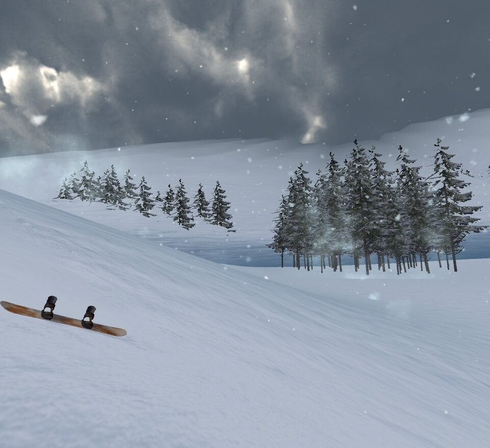 perpetual snowslide